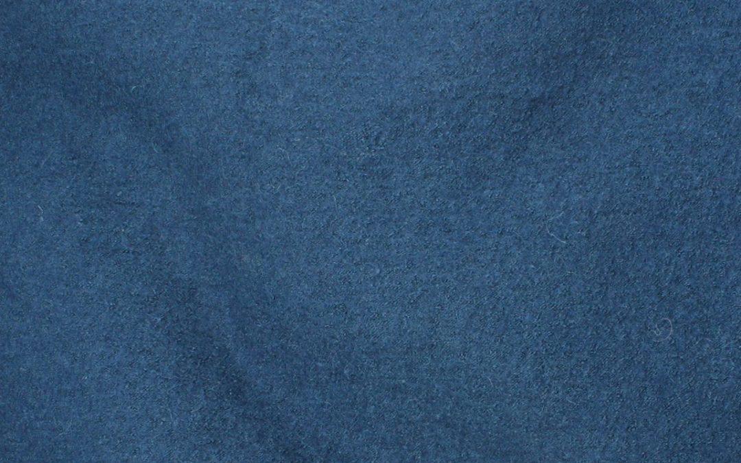Boiled Wool/Viscose – Dark Peacock