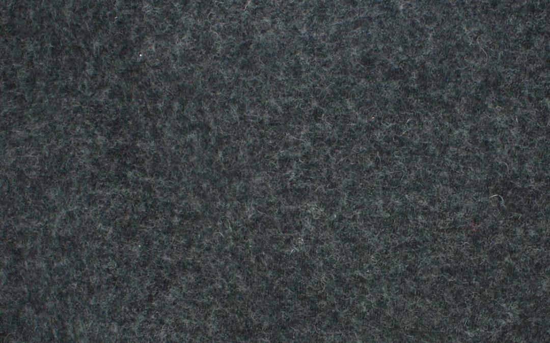 Boiled Wool/Viscose – Dark Heathered Grey