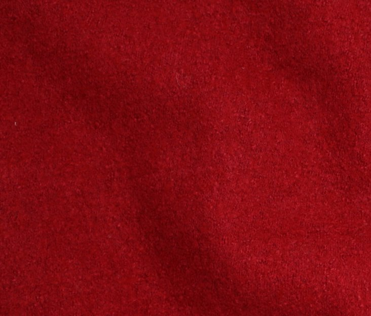 Boiled Wool/Viscose – Red