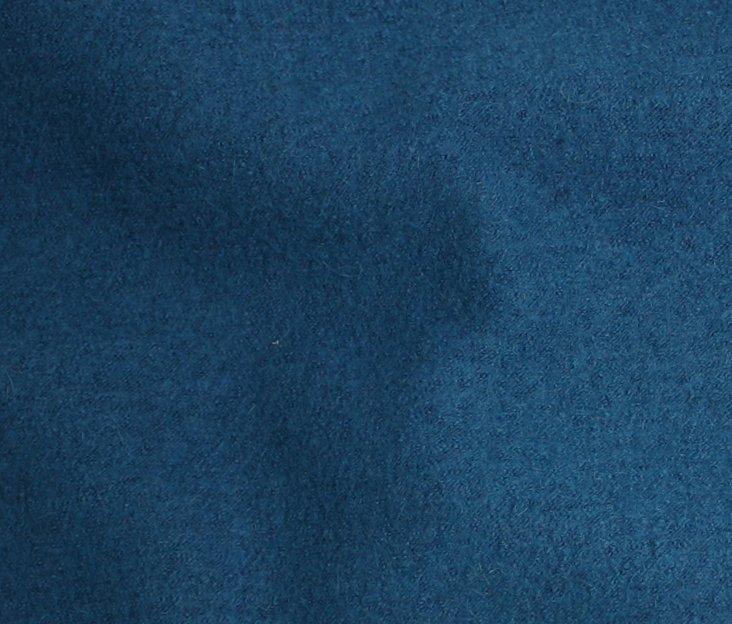 Boiled Wool/Viscose – Teal