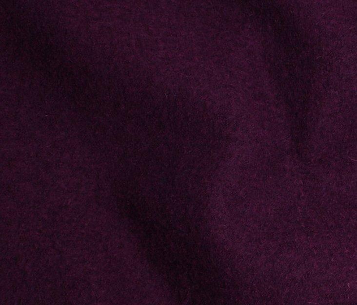 Boiled Wool/Viscose – Plum