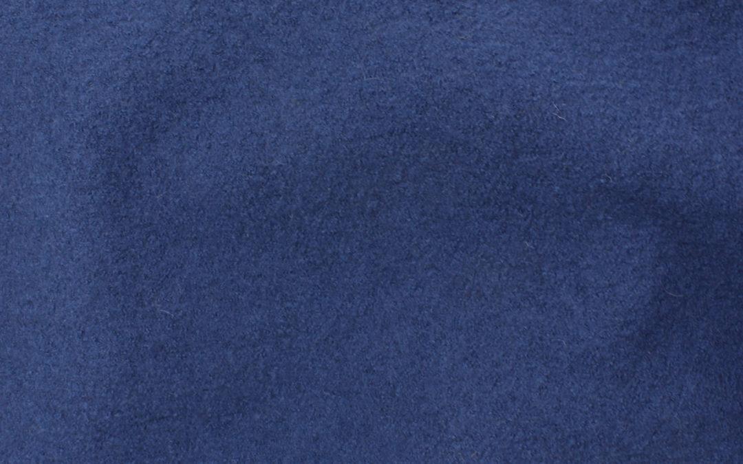 Boiled Wool/Viscose – Denim Blue