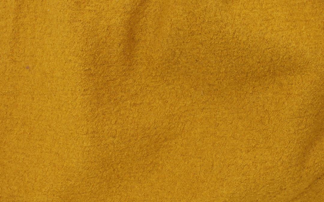 Boiled Wool/Viscose – Saffron