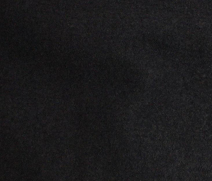 Boiled Wool/Viscose – Charcoal