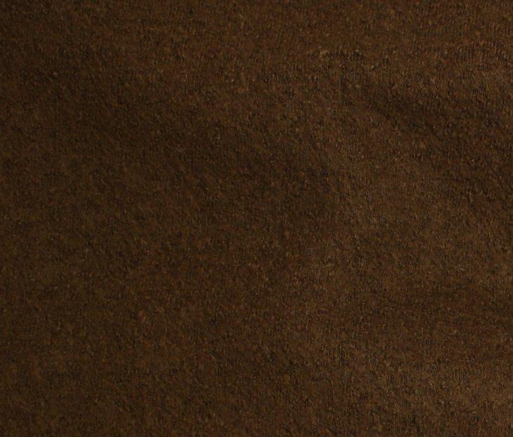 Boiled Wool/Viscose – Walnut
