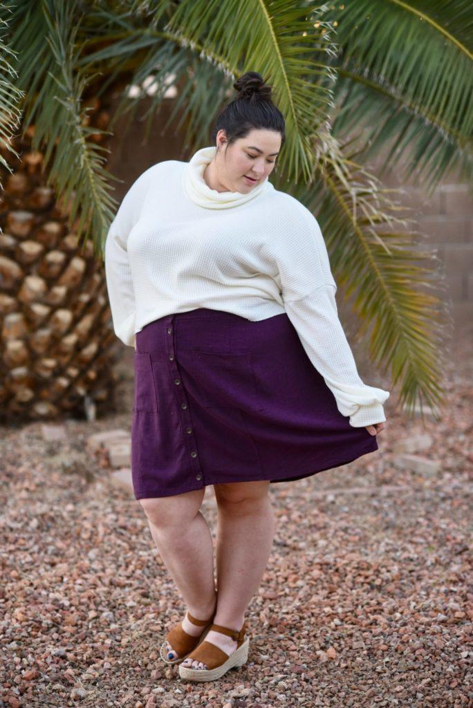 Stonemountain Sewists | Leanne's Mora Slub Reed Skirt