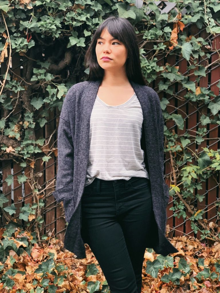 Stonemountain Sewists | Sara's Boiled Wool/Viscose Jacket