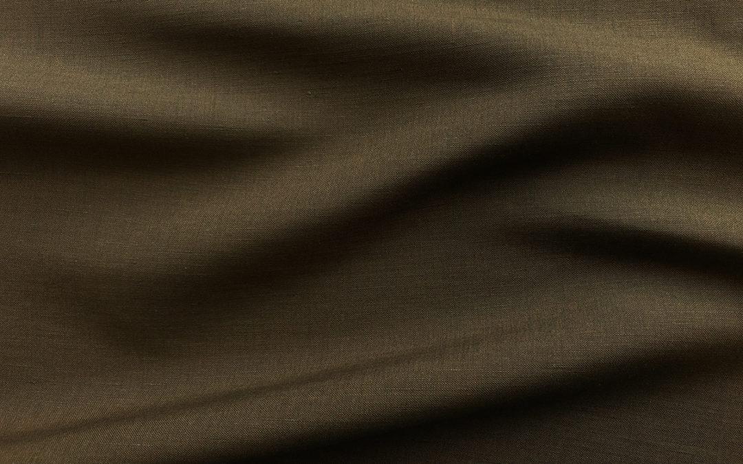 Silk/Linen Slub – Caper