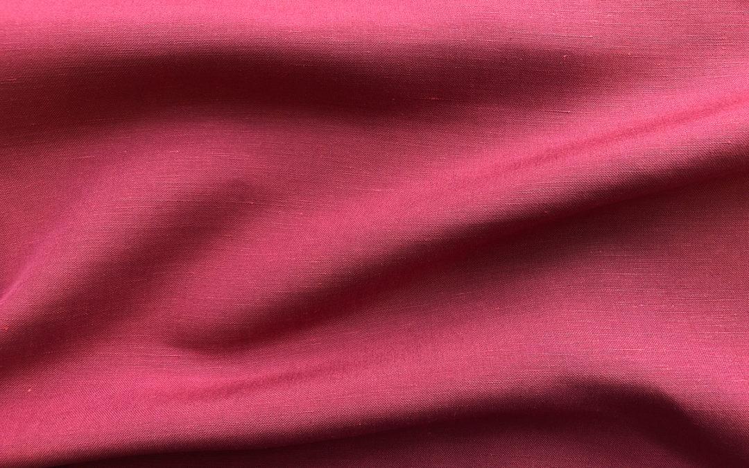 Silk/Linen Slub – Dried Rose