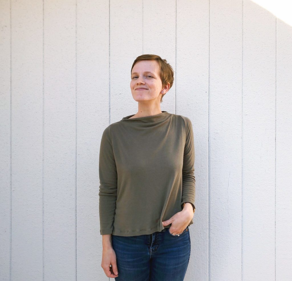Stonemountain Sewists | Elise's Bamboo/Merino Toaster Sweater