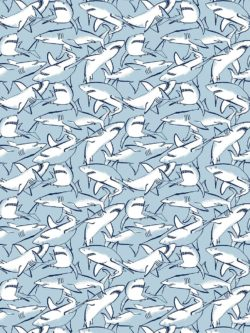 Dear Stella Shark Quilting Cotton