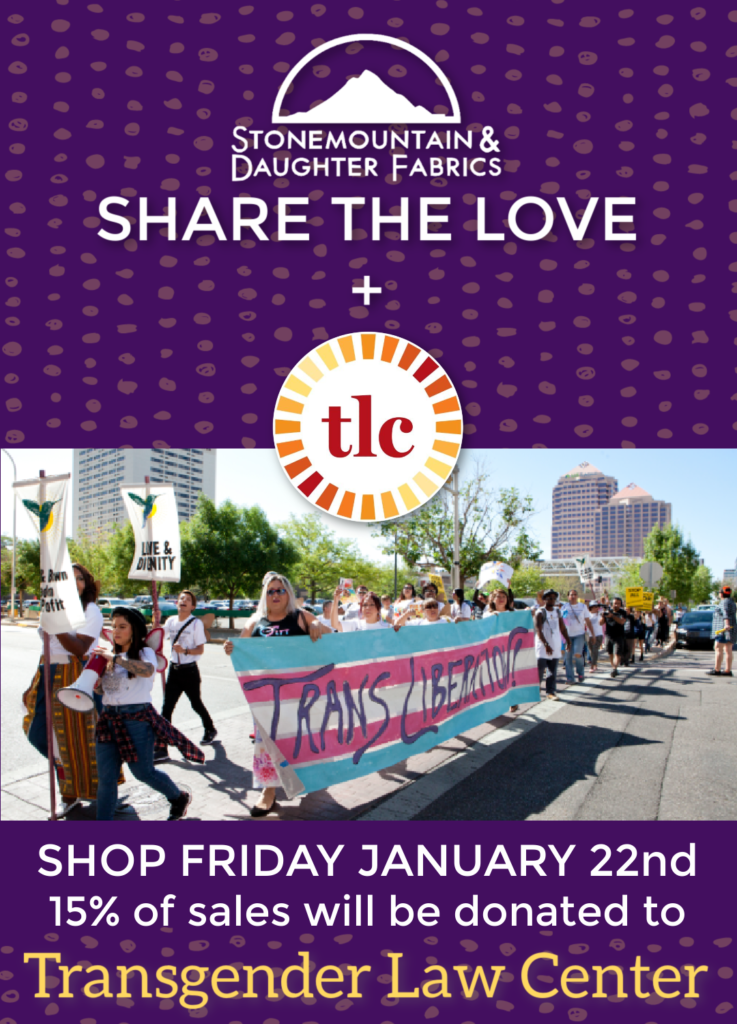 Share the Love: Transgender Law Center