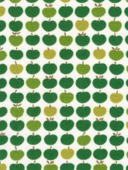 Laguna Cotton/Spandex Jersey - Apples - Green