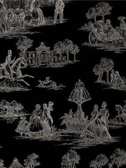 Alexander Henry - Luxembourg Garden - Black
