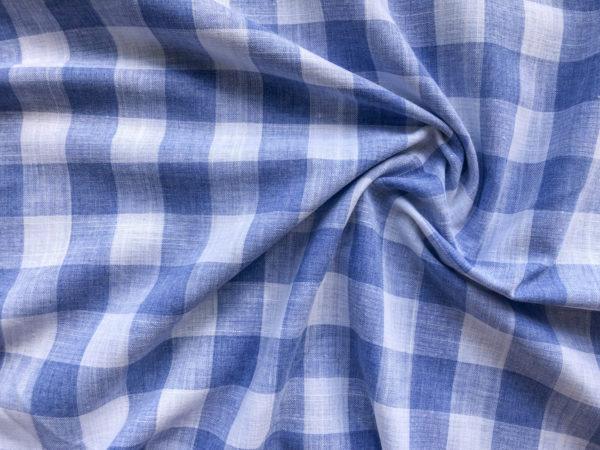 Cotton Linen Gingham