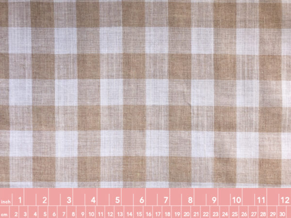 Cotton Linen Gingham