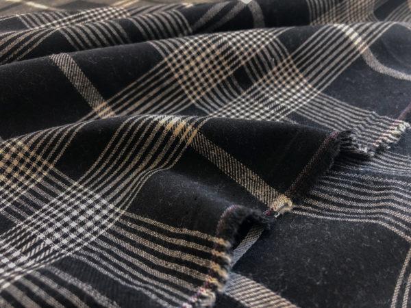 Plaid Cotton Shirting