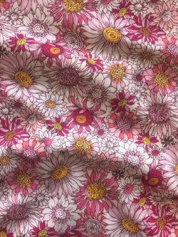 Japanese Cotton Floral Pink