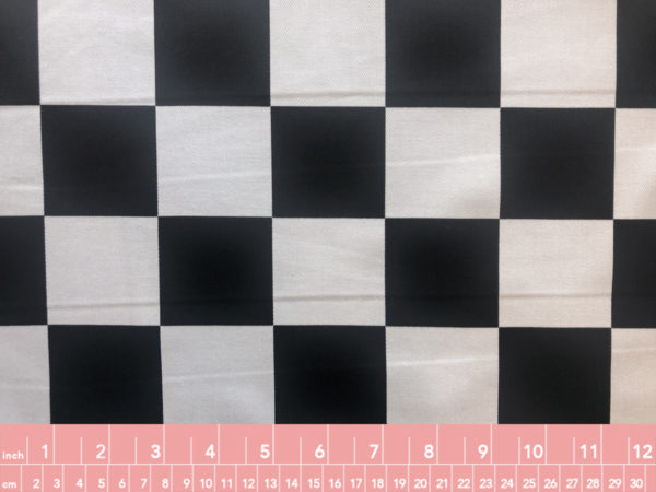 Japanese Cotton Twill Checkerboard