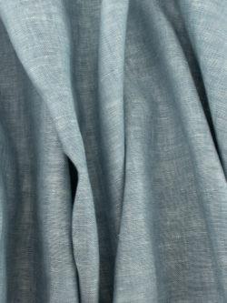 Birch Fabrics Organic Yarn Dyed Linen Poolside