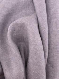 Birch Fabrics Organic Yarn Dyed Linen Thistle