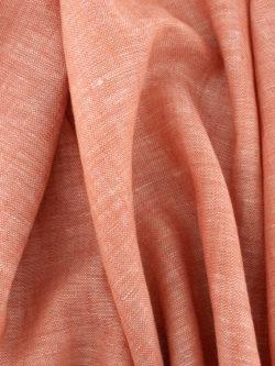 Birch Fabrics Organic Yarn Dyed Linen Begonia