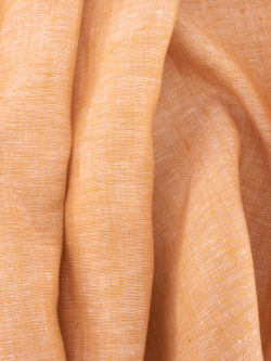 Birch Fabrics Organic Yarn Dyed Linen Sunset