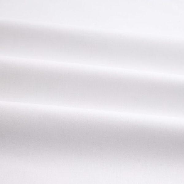 Organic Cotton Poplin White Sale