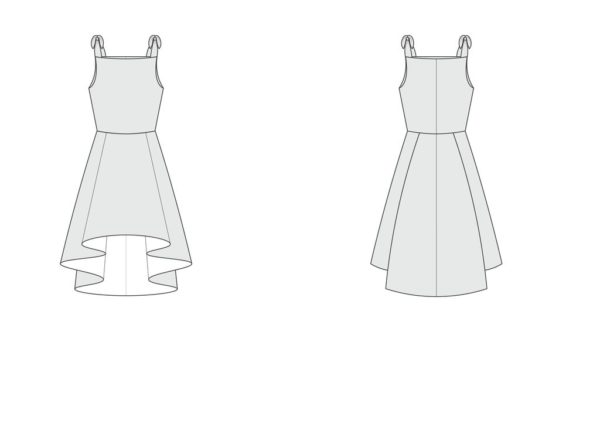 By Hand London Little Flora Dress Sewing Pattern