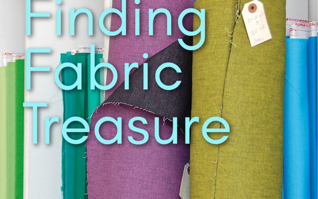 Finding Fabric Treasure: A Deadstock Primer