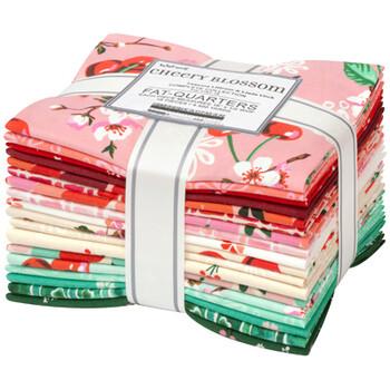 Wishwell – Cherry Blossom – Fat Quarter Bundle – 18 pc