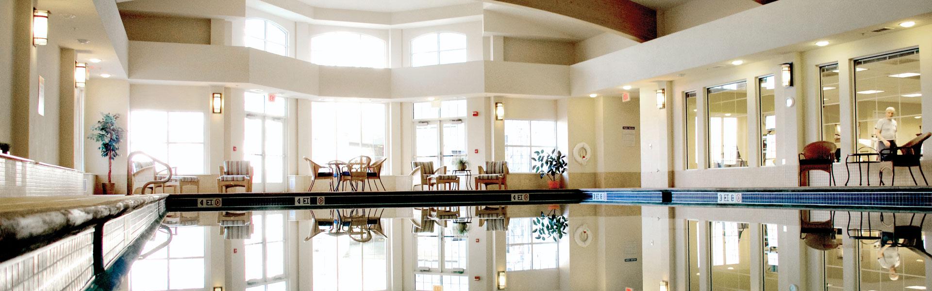 Indoor Pool at StoneRidge Senior Independent Living