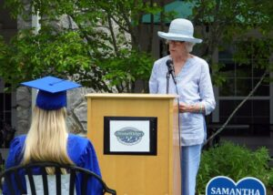 StoneRidge resident leads commencement ceremony for graduating students