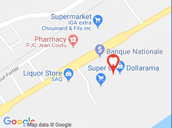 Nous localiser sur Google Maps