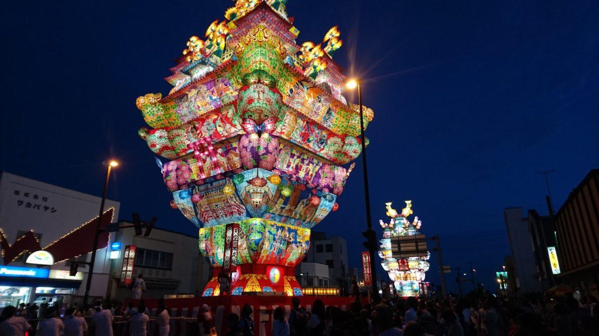 東北の七夕をご紹介!8月にド派手な灯籠とそうめんを楽しむのが東北式!?