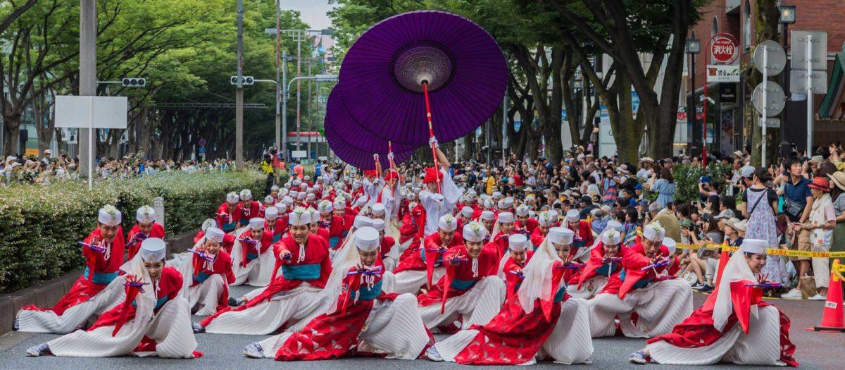 高知・東京・仙台・神戸でも、全国で開催されるオススメよさこい祭り【2018年のスケジュールや見所】