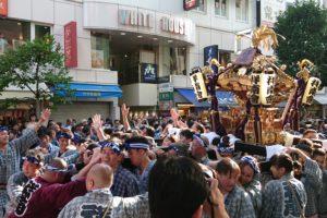 吉祥寺秋祭り 神輿