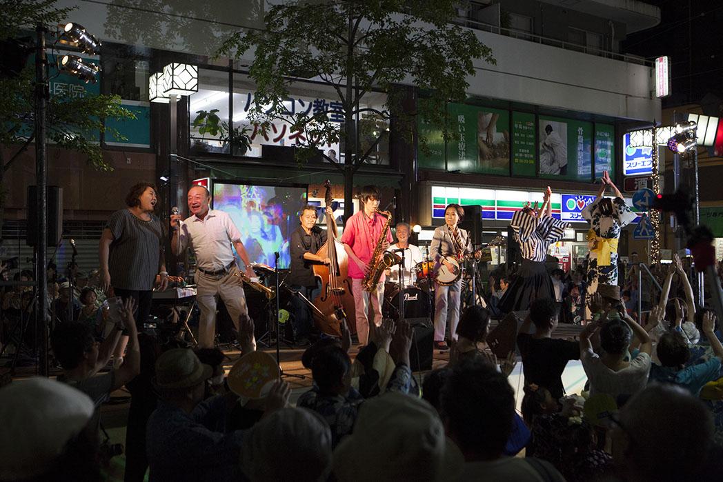 野毛ジャズde盆踊り2018!横浜・野毛で渋さ知らズ、梅津和時の生演奏&みんなで盆踊り!