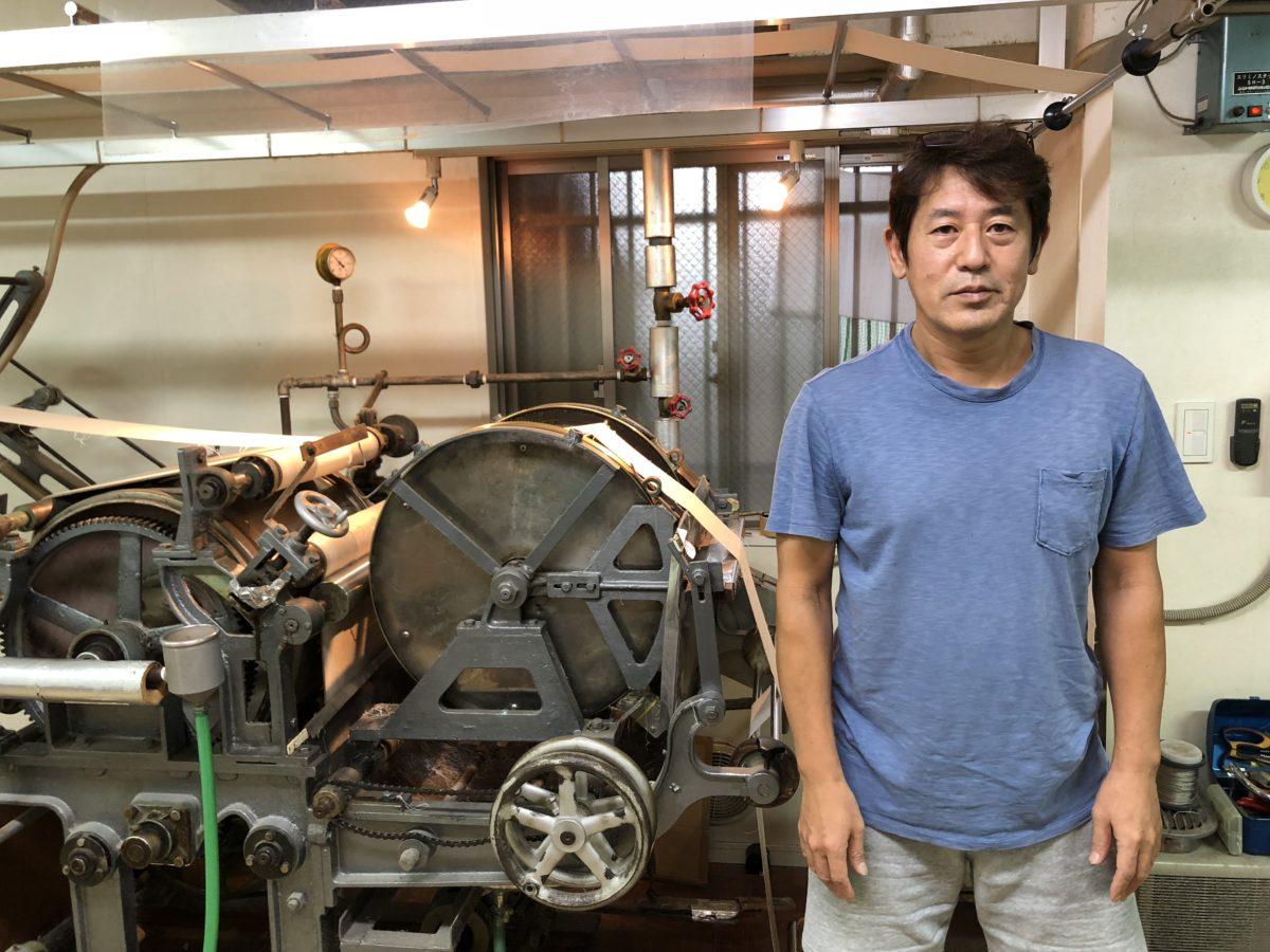 湯のし職人の吉澤さん、ありがとうございました。