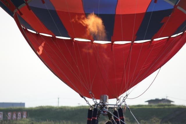 気球のバーナー