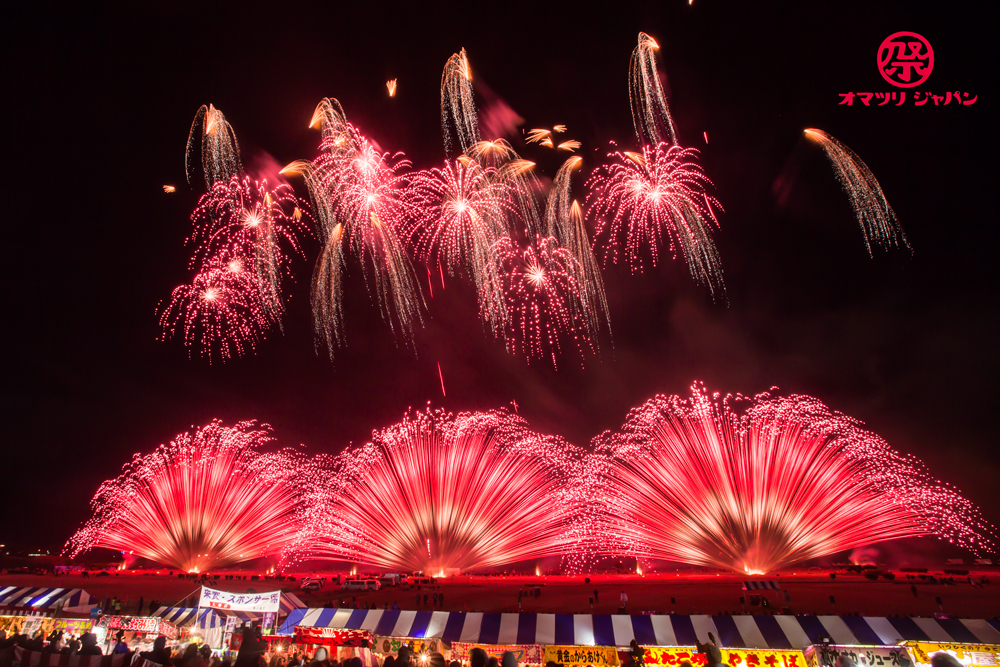 長野えびす講煙火大会2018をレポート!晩秋の夜、澄んだ夜空で極上の花火が咲き乱れる!