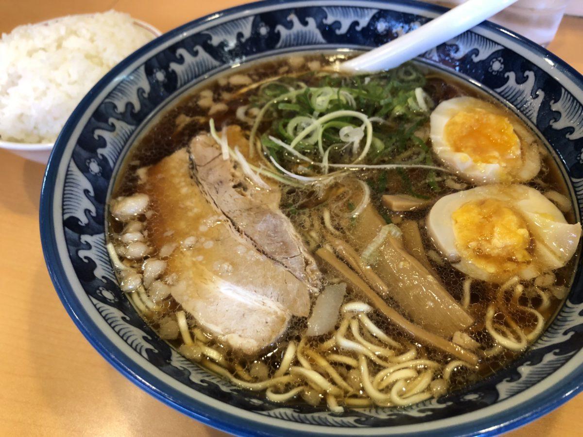 尾道ラーメン「壱番館」のラーメン