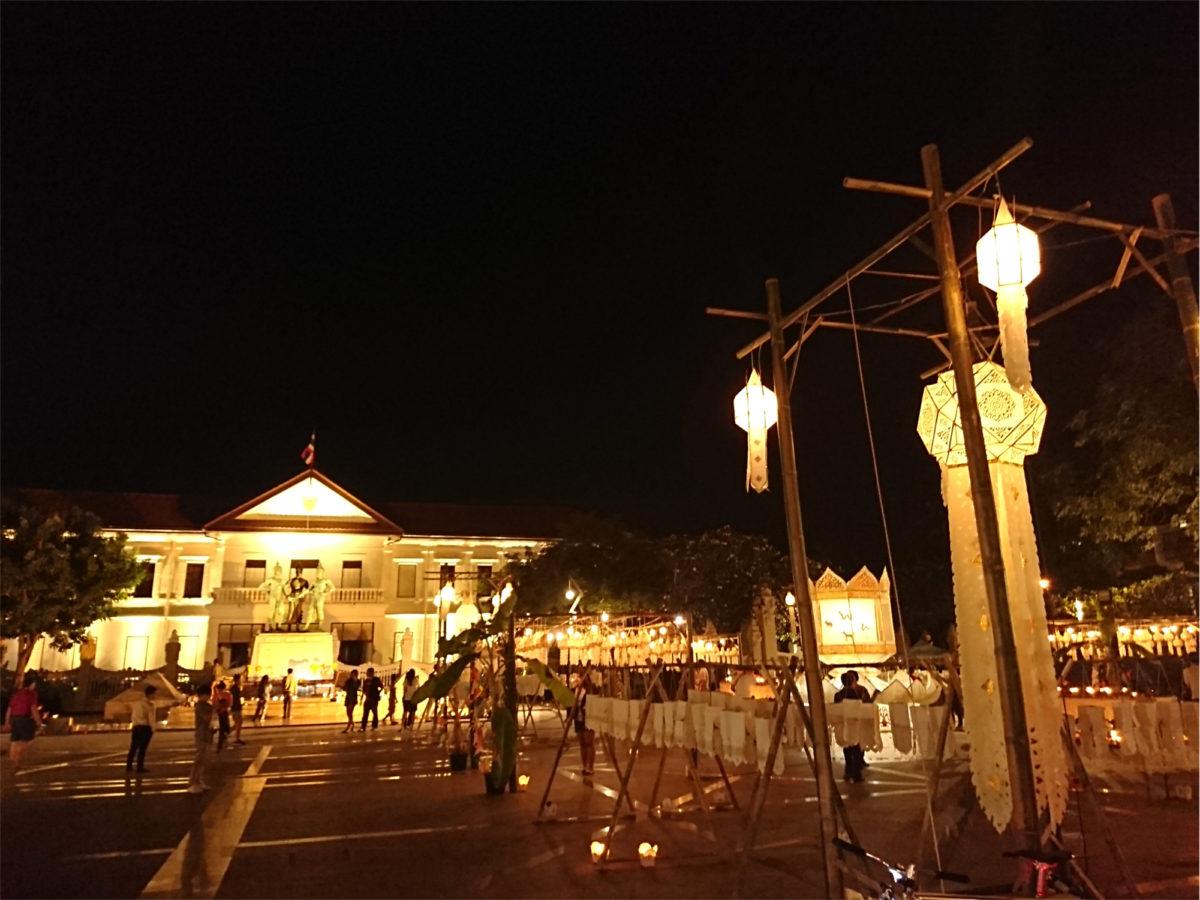 チェンマイの三人の王様記念碑