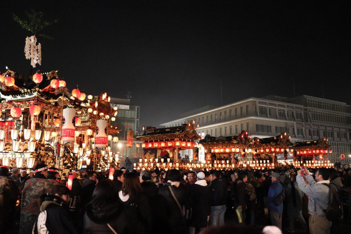 平成最後の秩父夜祭。師走の秩父に「ホーリャイ」がこだました。