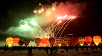 おぢや風船一揆!本州唯一、雪上で行われる熱気球競技大会!体験も!?