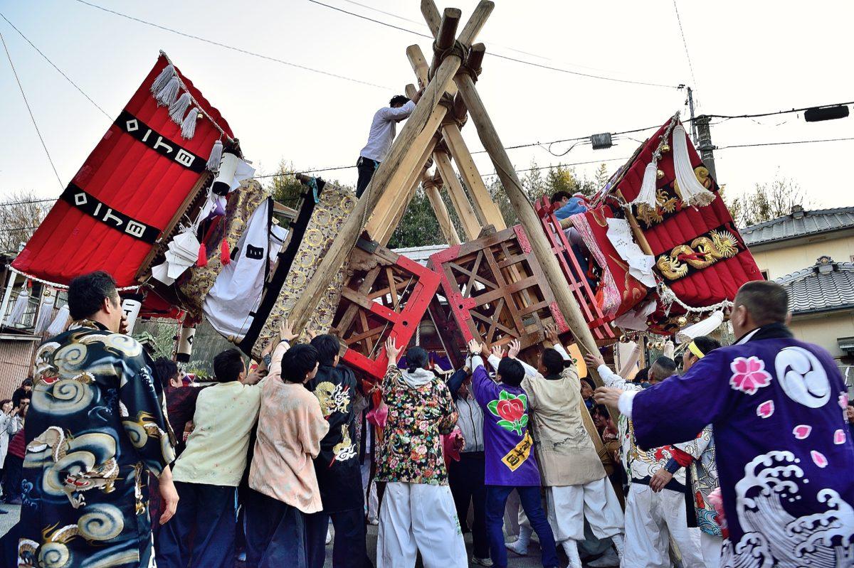 能地春祭り