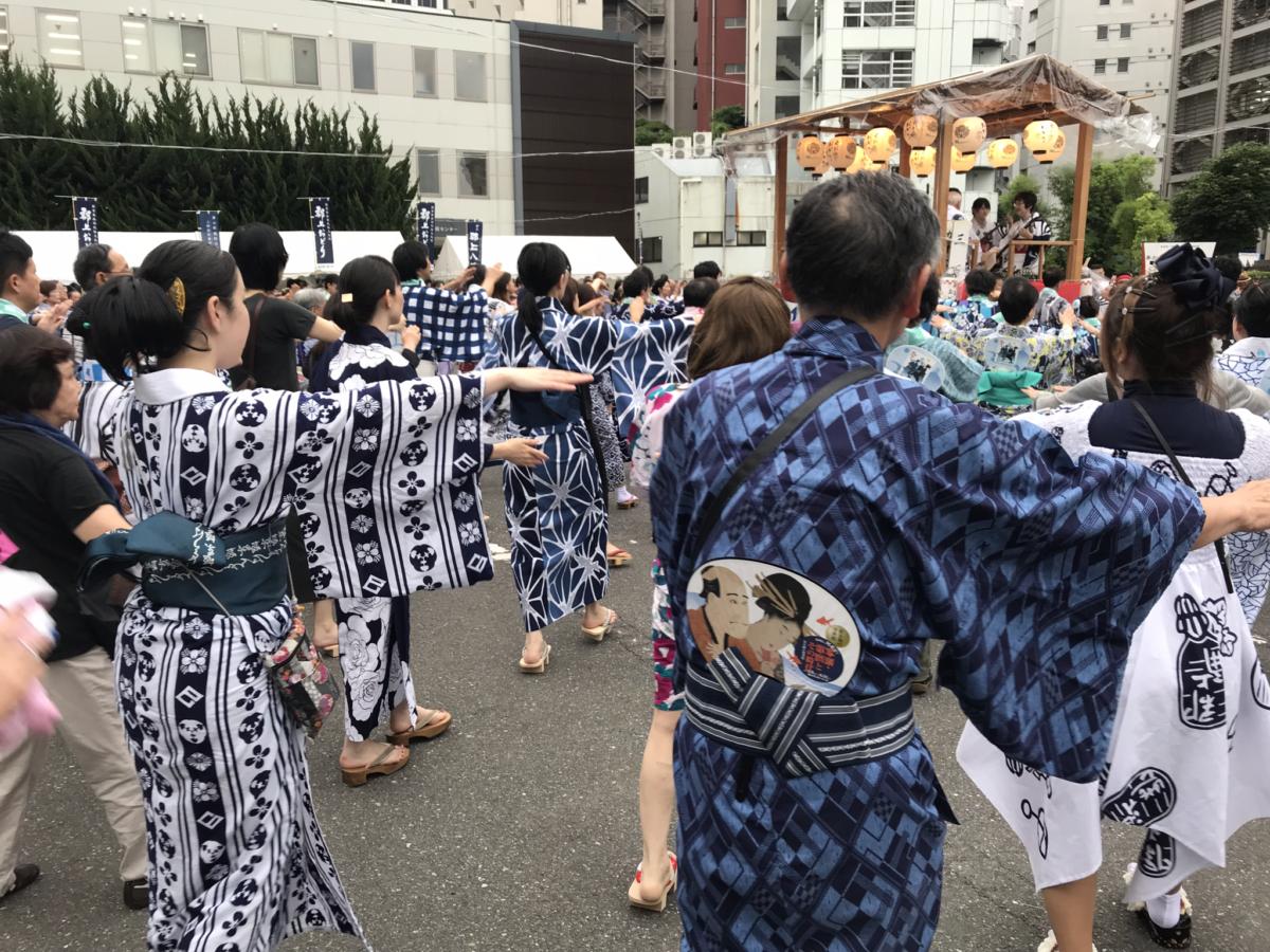 """<お知らせ>""""郡上踊りin青山2019""""にオマツリジャパン有志が参加しました!"""