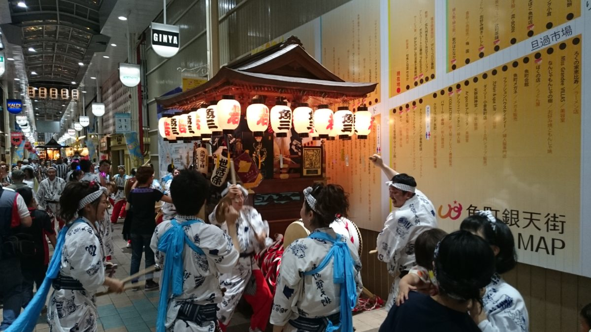 小倉祇園太鼓の見どころをご紹介!太鼓の伝統技を競い合う!