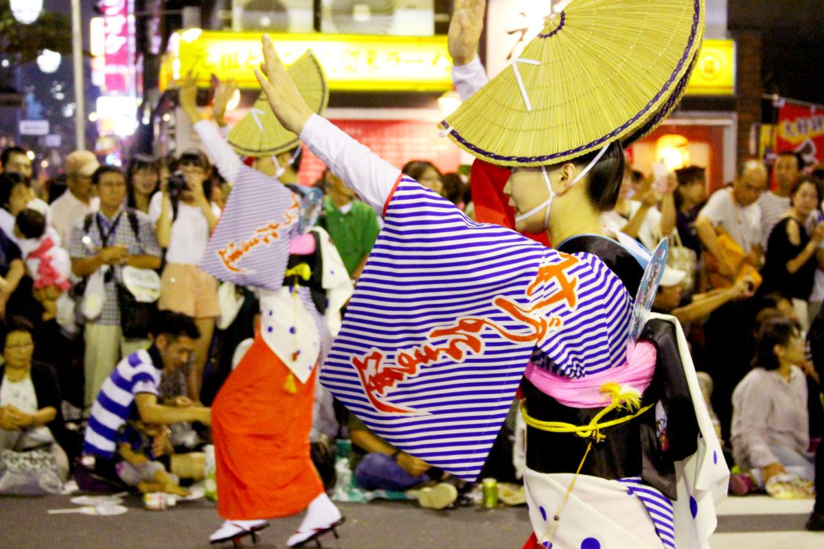 南越谷阿波踊りで熱気を感じよう!日本三大阿波踊りの1つ、なぜ埼玉で?