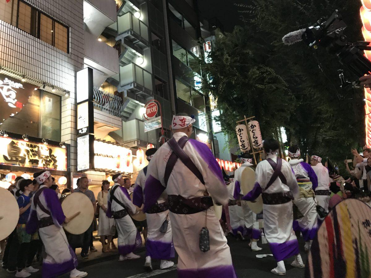 【東京神楽坂】浴衣の似合う街、神楽坂で楽しむ阿波踊り